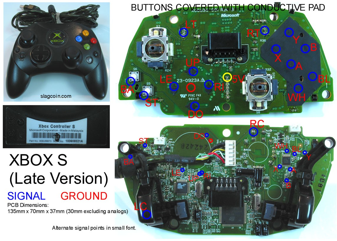 Xbox 360 Circuit Board | Wiring Diagram Image
