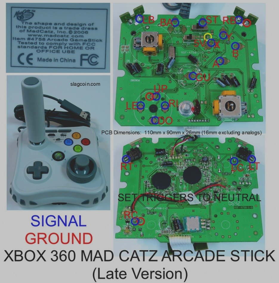 Xbox 360 Controller Wiring Diagram Schematic Library Wireless Application Slim Inside One Motherboard