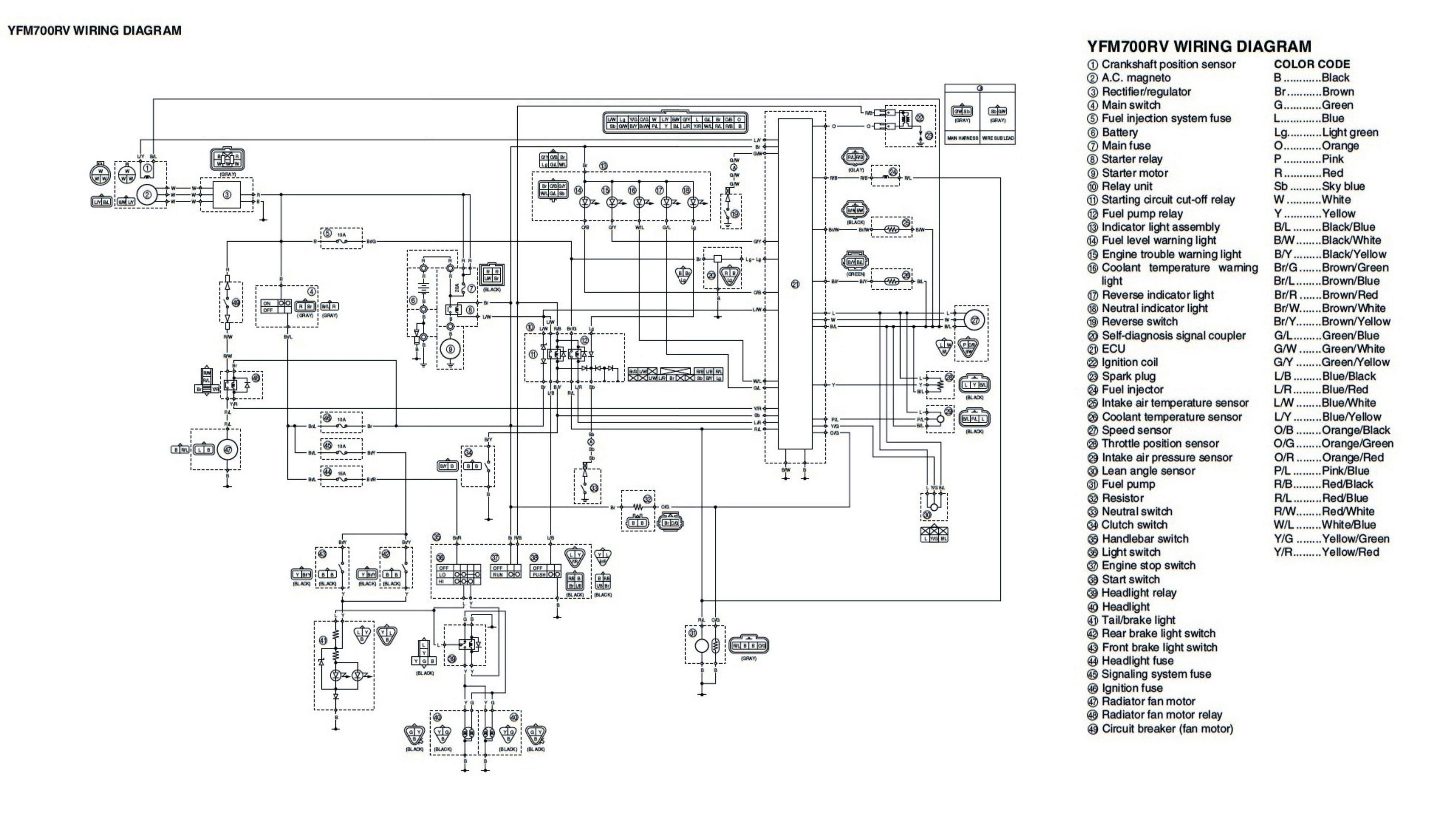 free wiring schematic 2005 yfz
