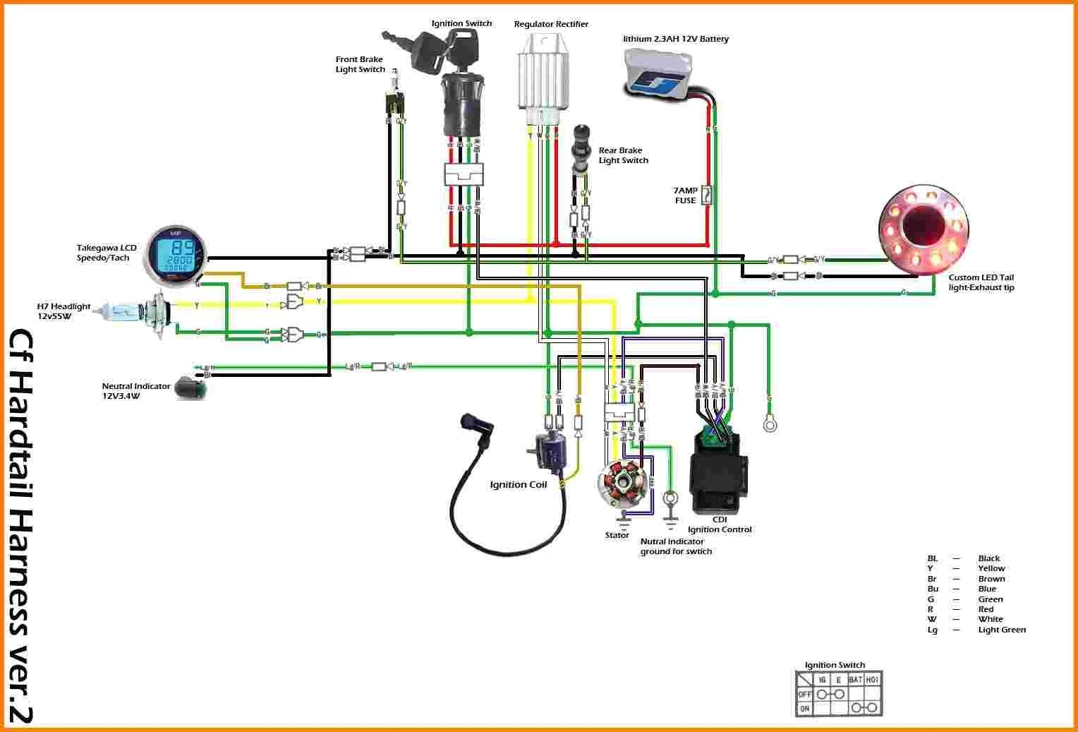 Chinese 0cc Atv Wiring Diagram Cdi Dolgular Prepossessing With For 0 Atc110x85 110