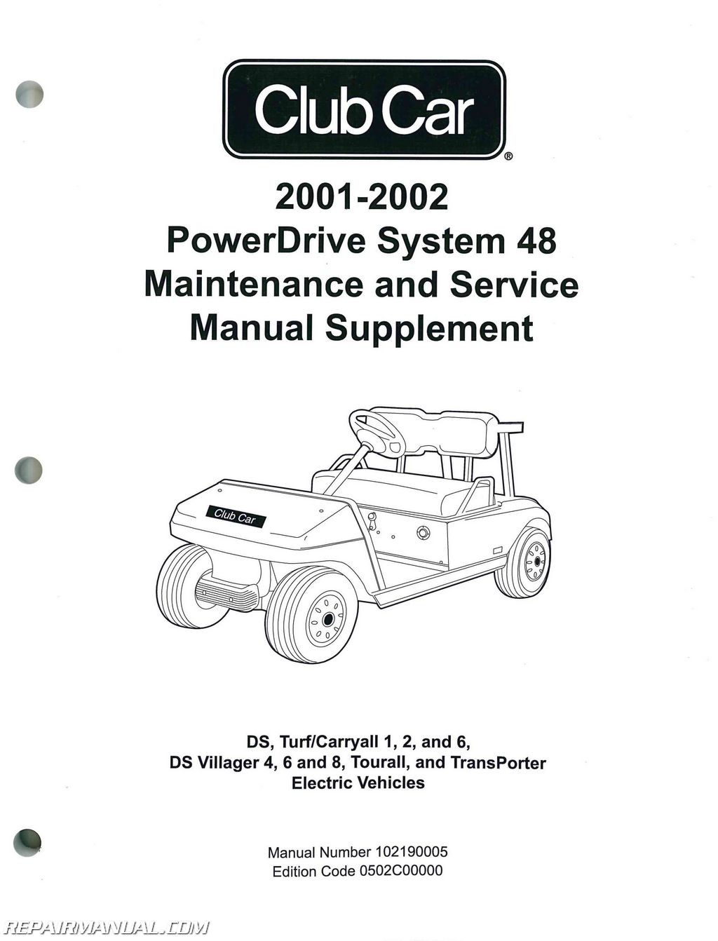 Gas Club Car Wiring Diagrams Manual Guide