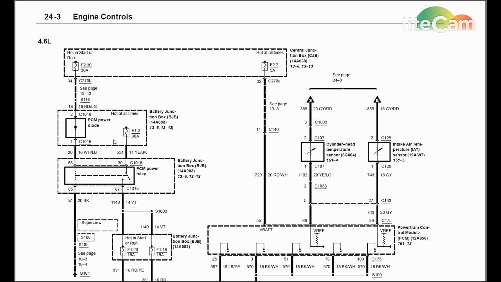 Unique 1997 ford F150 4.6 Spark Plug Wiring Diagram ...
