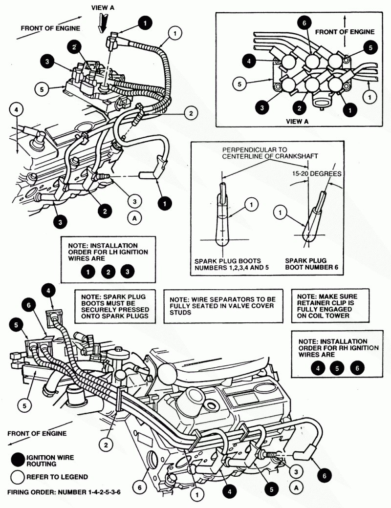unique 1997 ford f150 4 6 spark plug wiring diagram