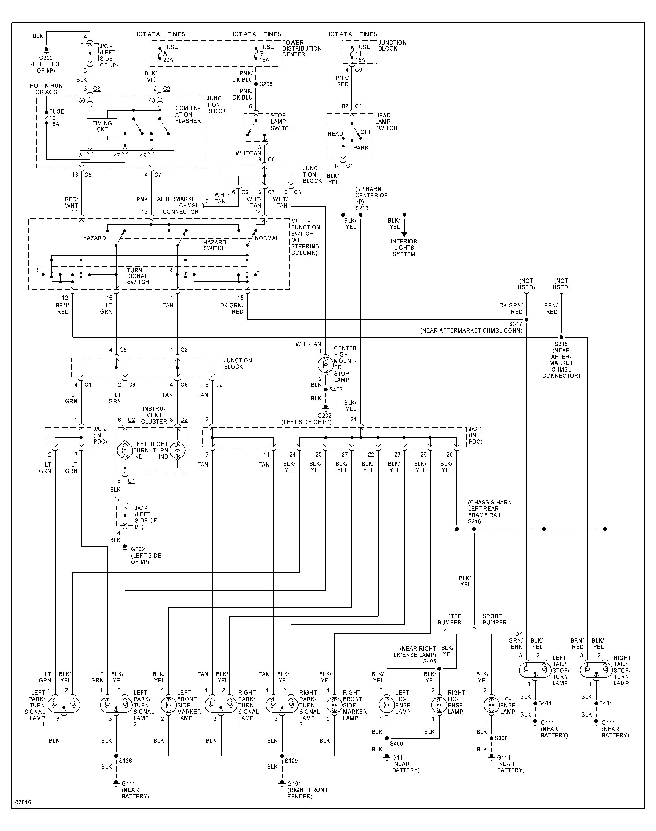 unique 2001 dodge dakota wiring diagram