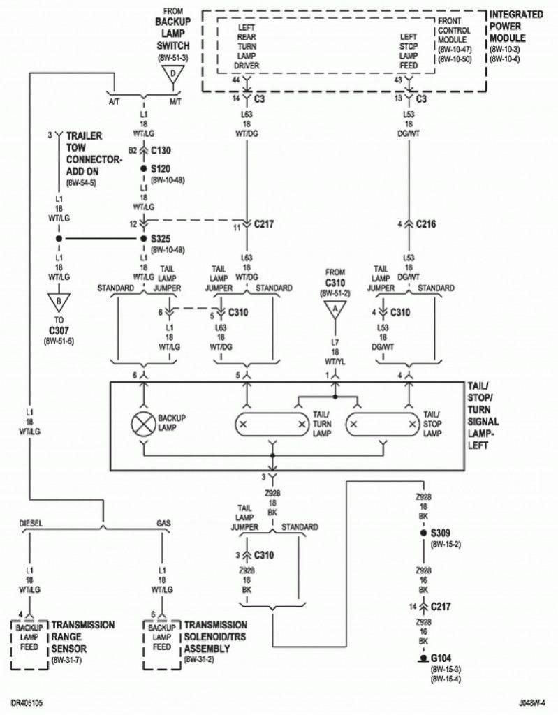 2007 dodge ram 1500 brake light wiring diagram