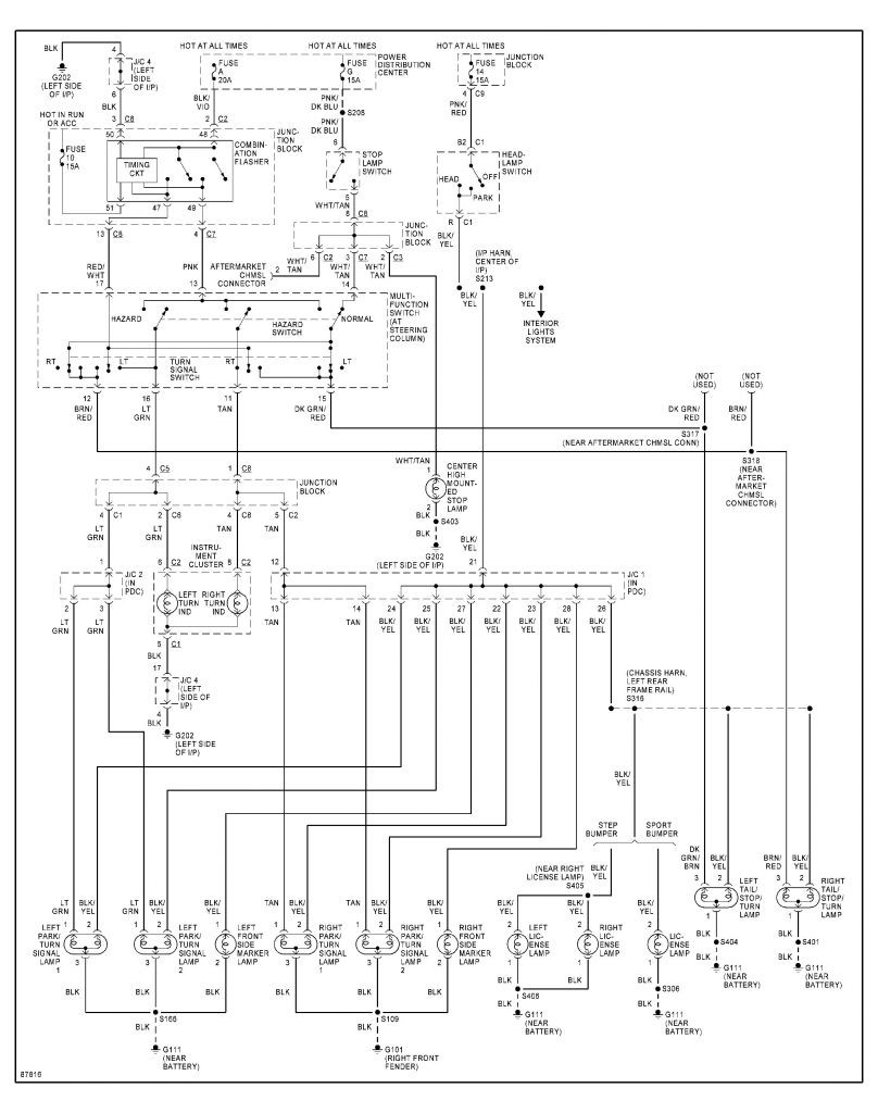 2001 Dodge Ram 1500 Tail Light Wiring Diagram | Wiring ...