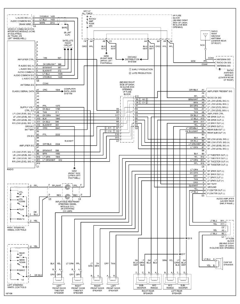 2001 pontiac grand am radio wiring diagram elegant