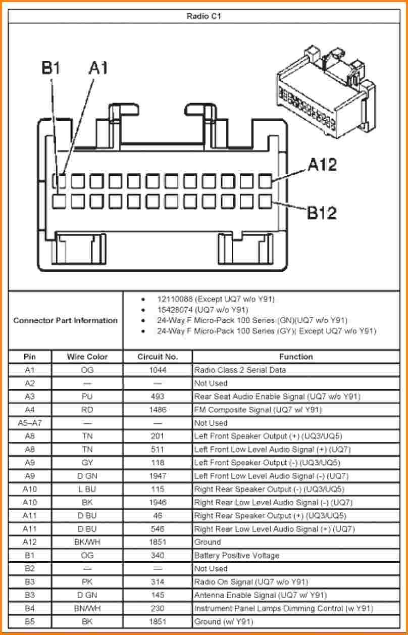 2002 Chevy Trailblazer Radio Wiring Diagram | Wiring ...