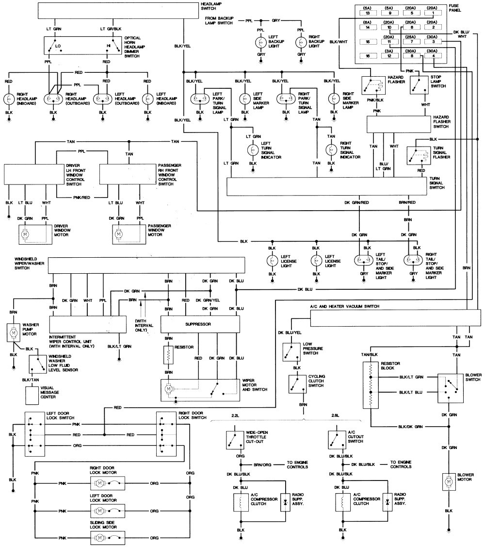 dodge caravan ac wiring diagram free picture - wiring diagram academic -  academic.lastanzadeltempo.it  lastanzadeltempo.it