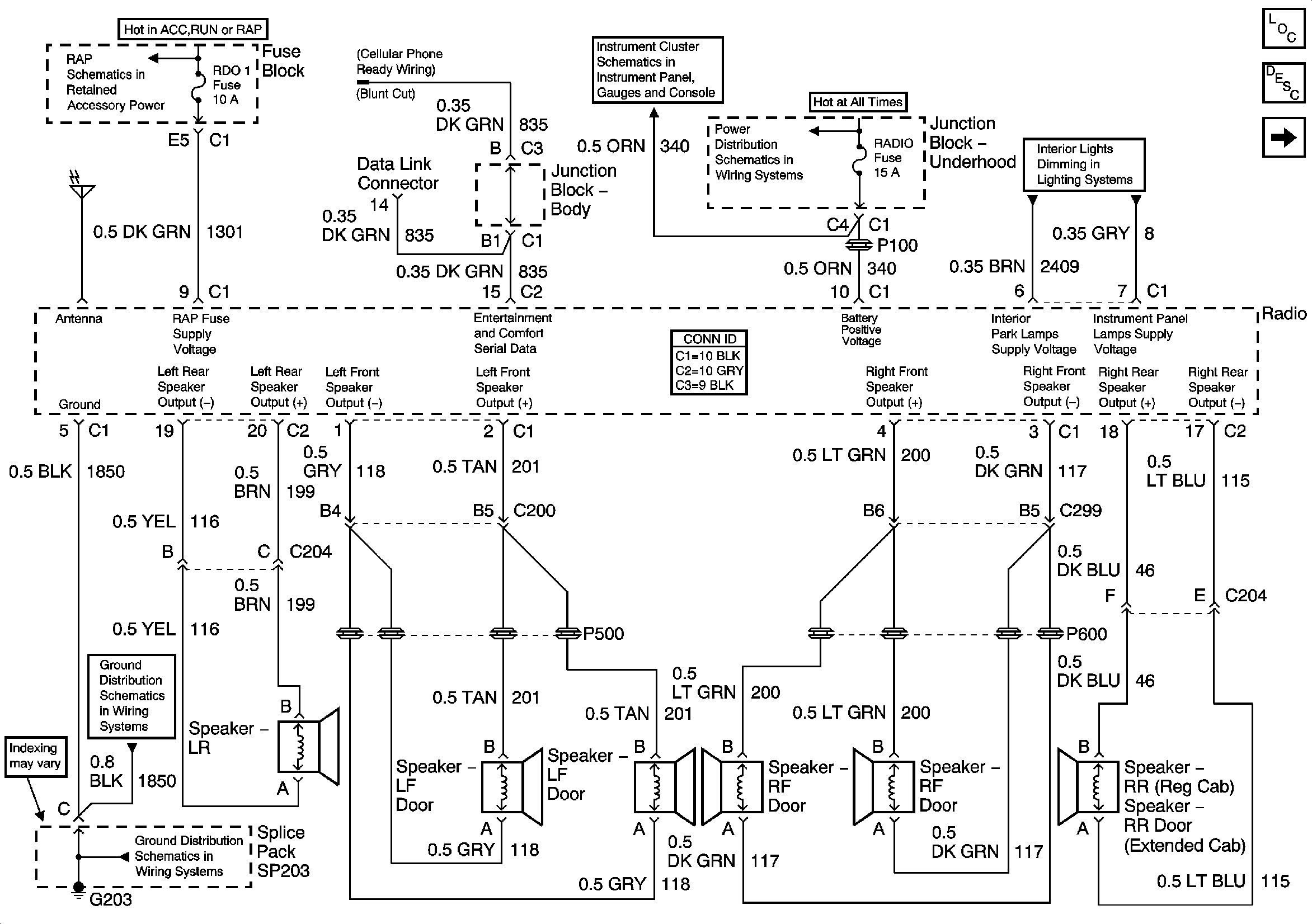969A3 2001 Chevy Tahoe Wiring Diagram Radio | Digital Resources 2001 chevy tahoe factory amp location Digital Resources