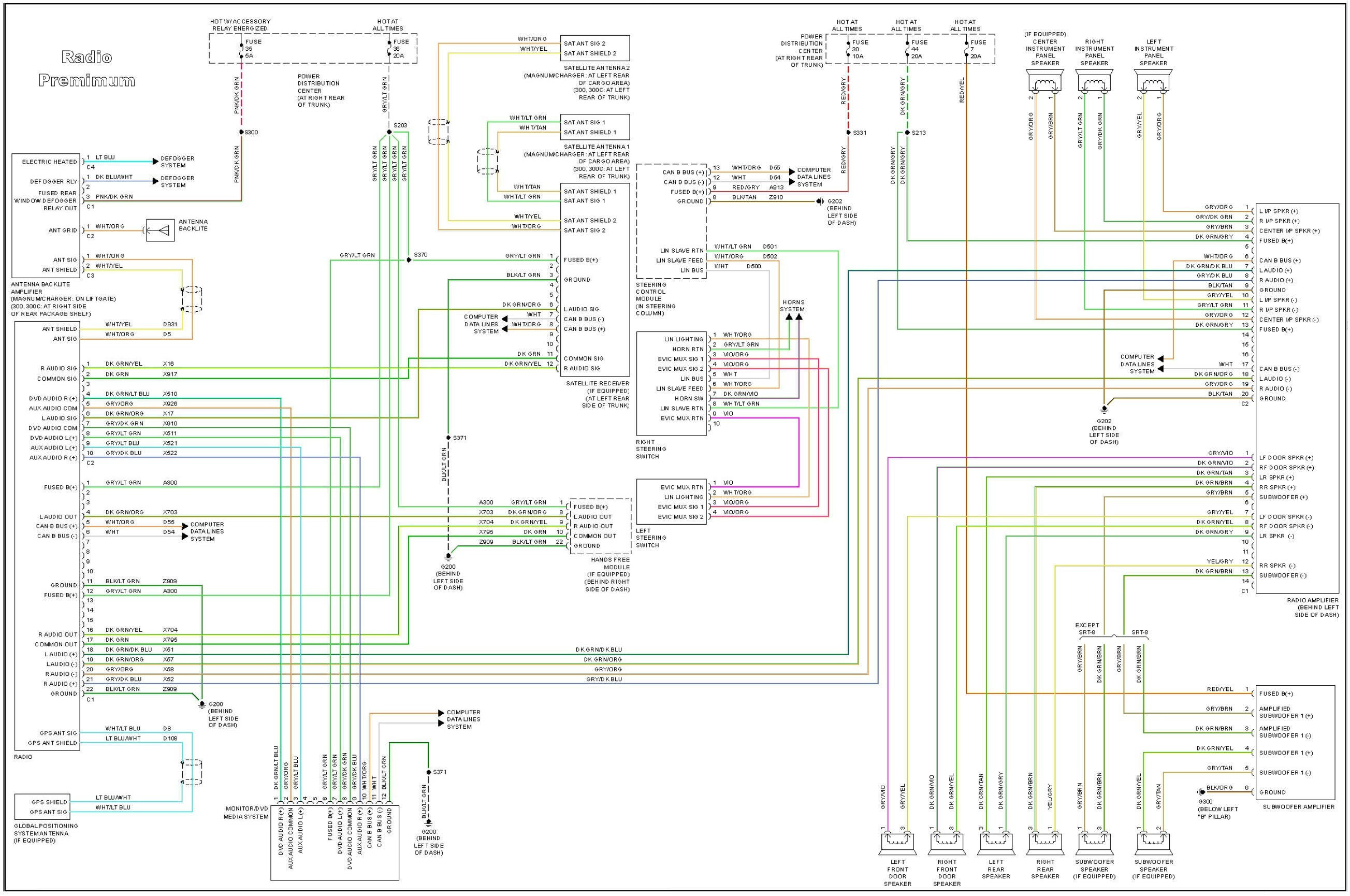2007 Chrysler Pacifica Radio Wiring Diagram Rate Chrysler Wiring Diagrams Schematics Chrysler Wiring Diagrams