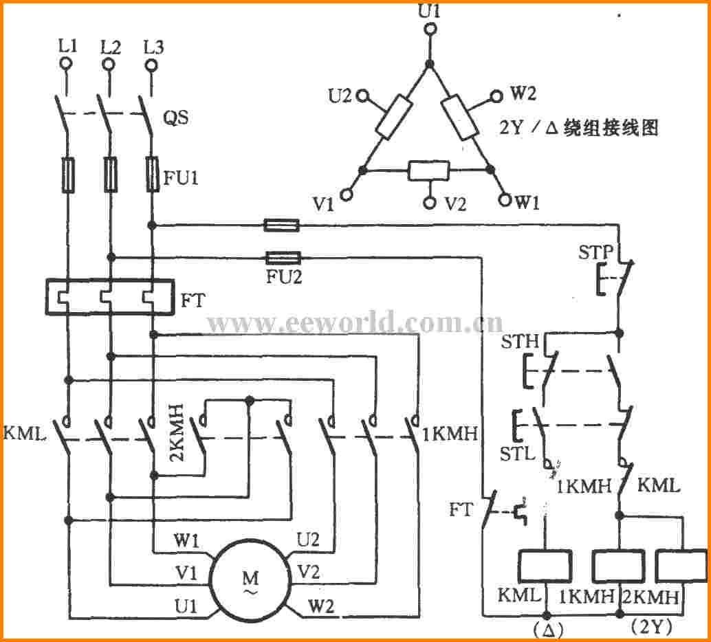 unique 3 phase 2 speed motor wiring diagram