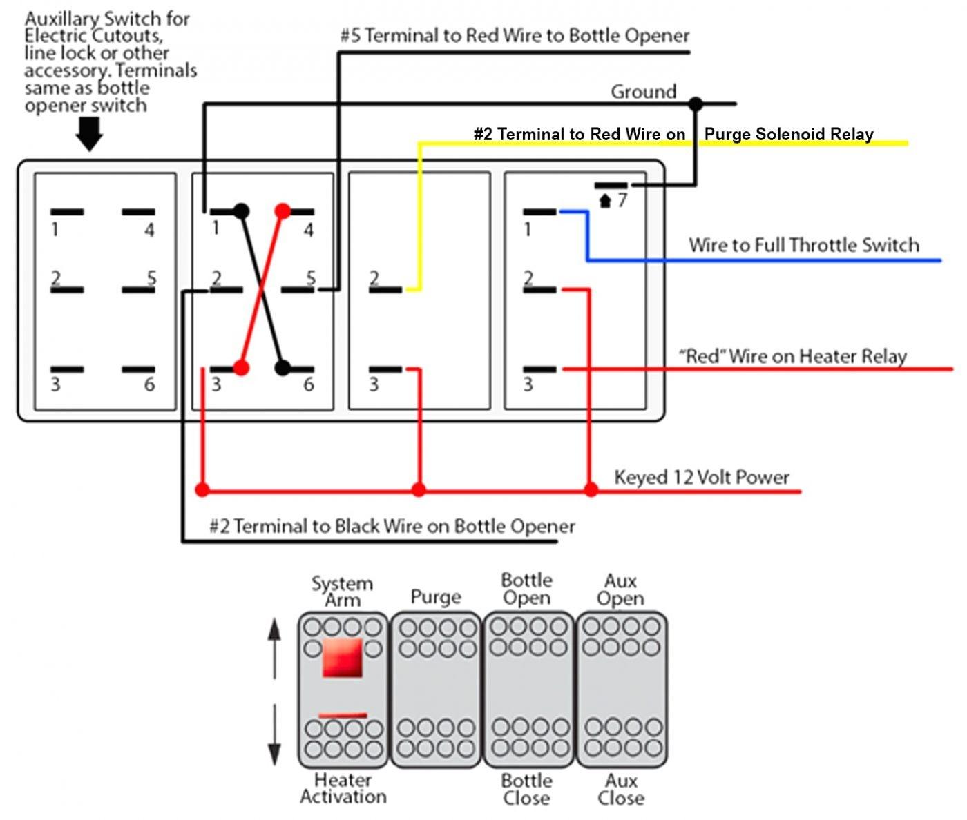 5 Pin Rocker Switch Wiring Diagram - Database