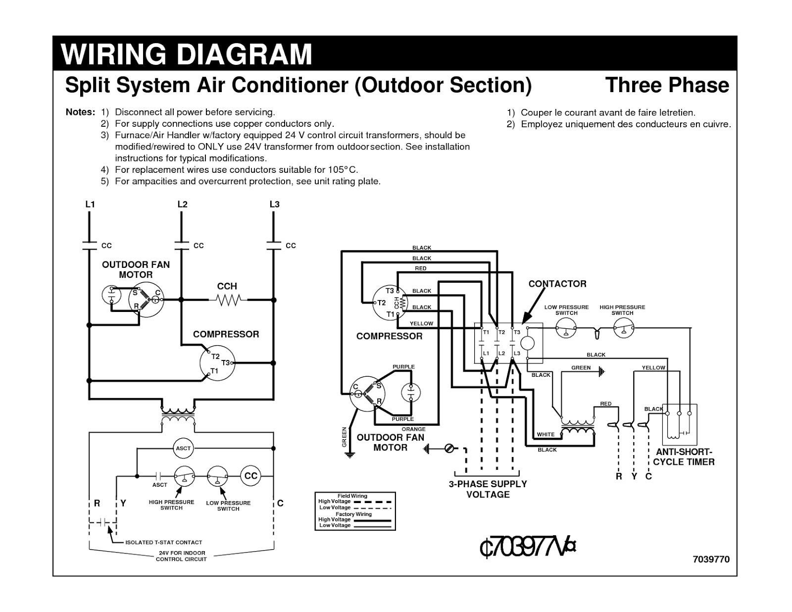 ac wiring diagram pdf elegant