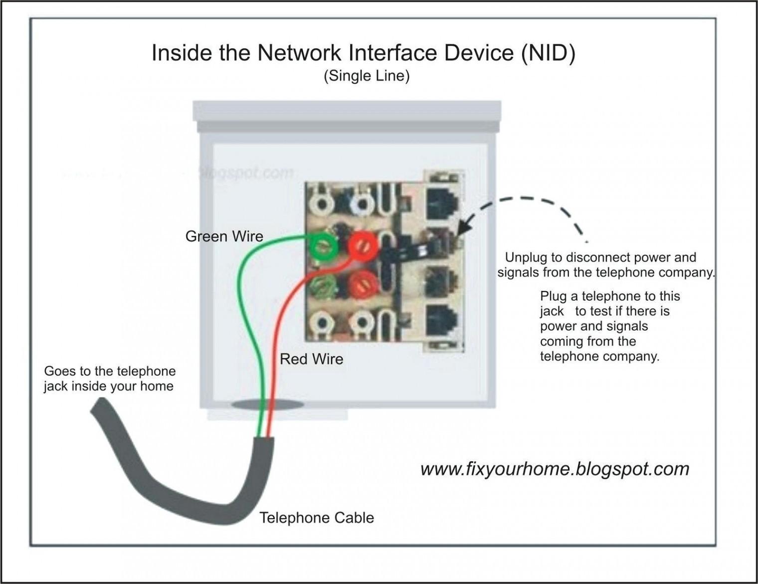 Att Uverse Wiring Diagram