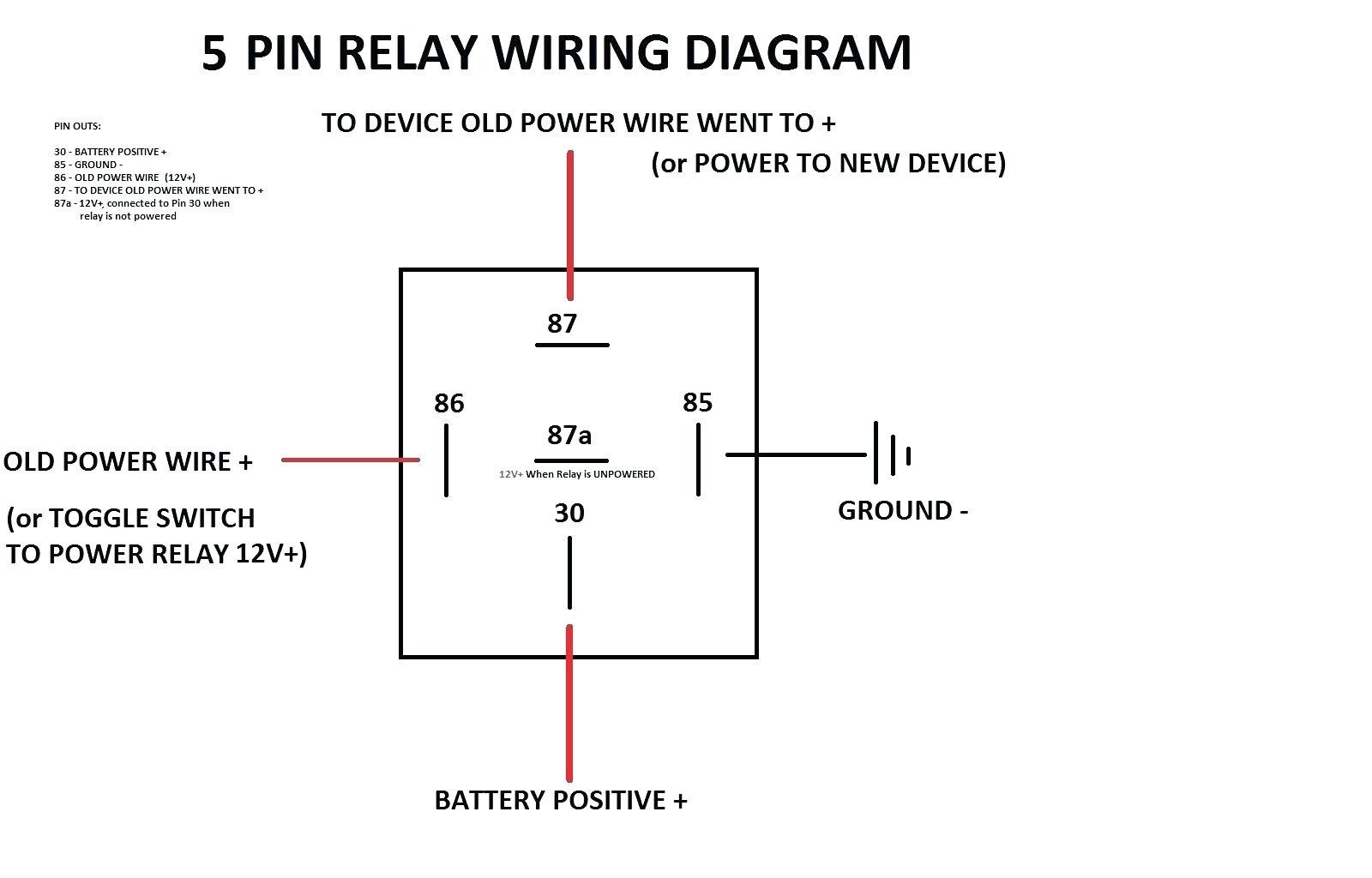 Automotive Relay Wiring Diagram Afif At Roc Grp Org Lively