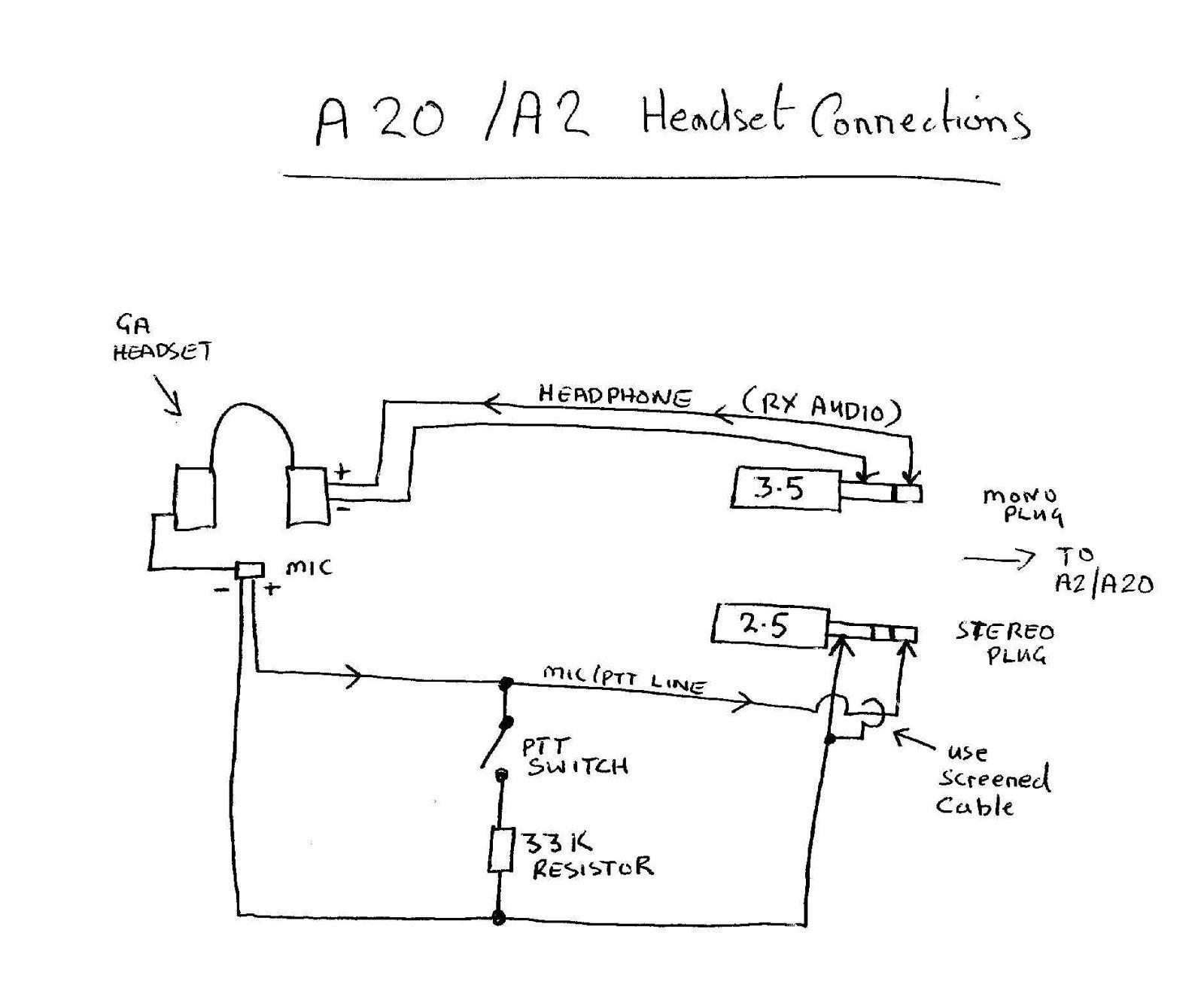 Aviation Headset Jack Wiring Diagram Elegant