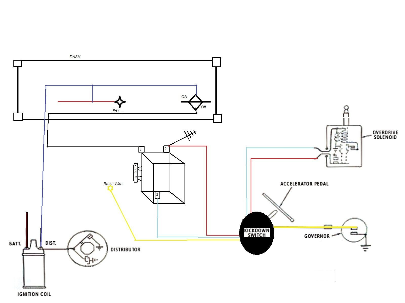 borg warner overdrive wiring diagram awesome