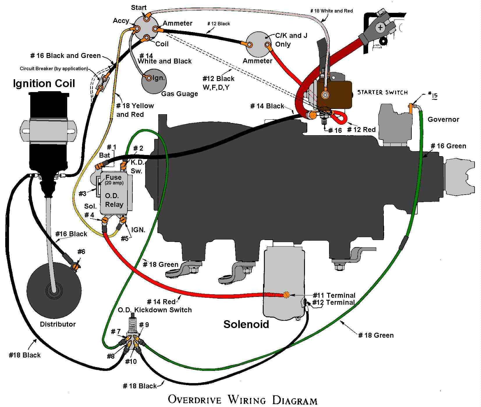 borg warner overdrive wiring diagram awesome wiring. Black Bedroom Furniture Sets. Home Design Ideas