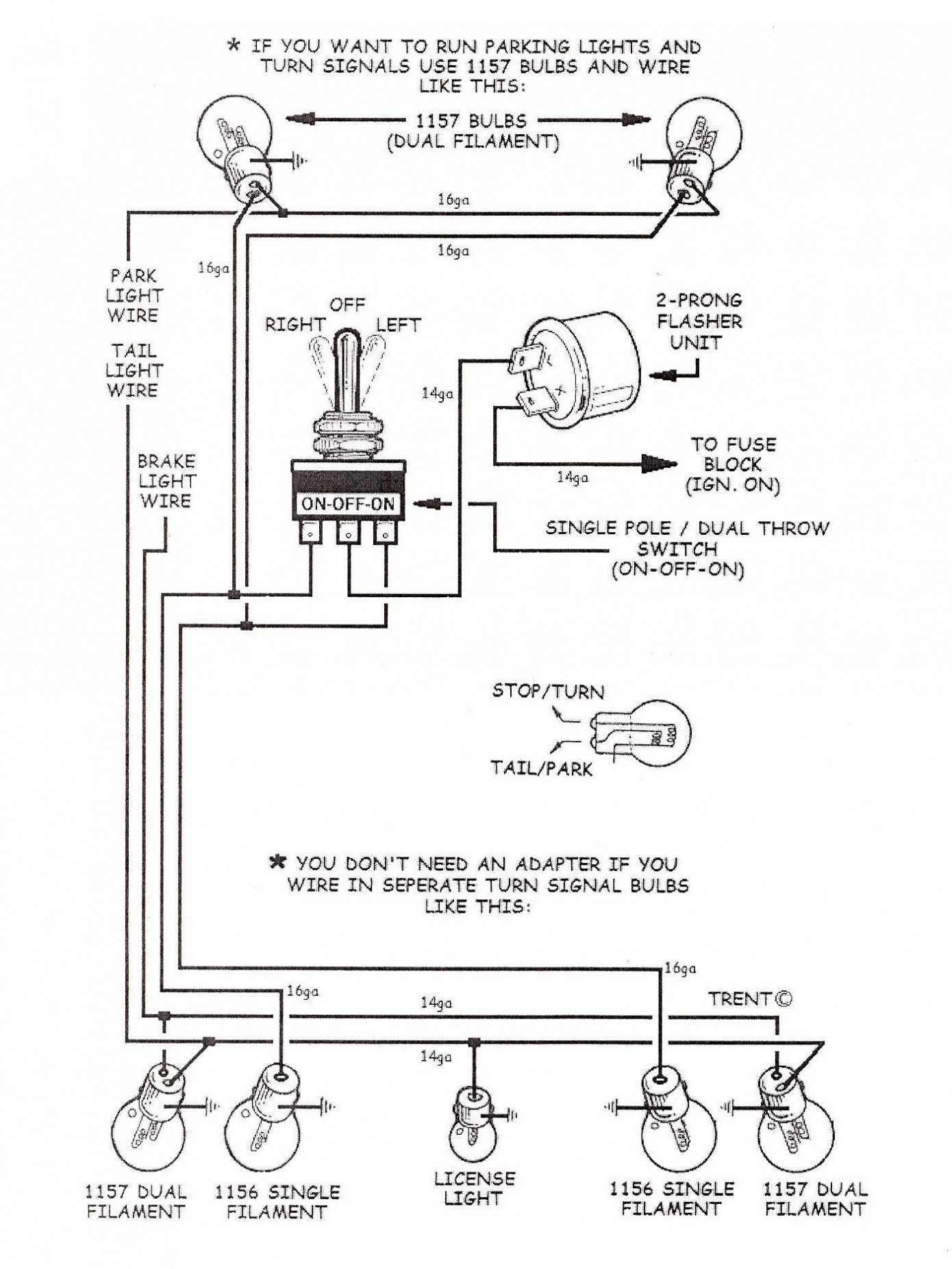 1157 light bulb wiring diagram enthusiast wiring diagrams u2022 rh rasalibre co Simple Brake Light Wiring