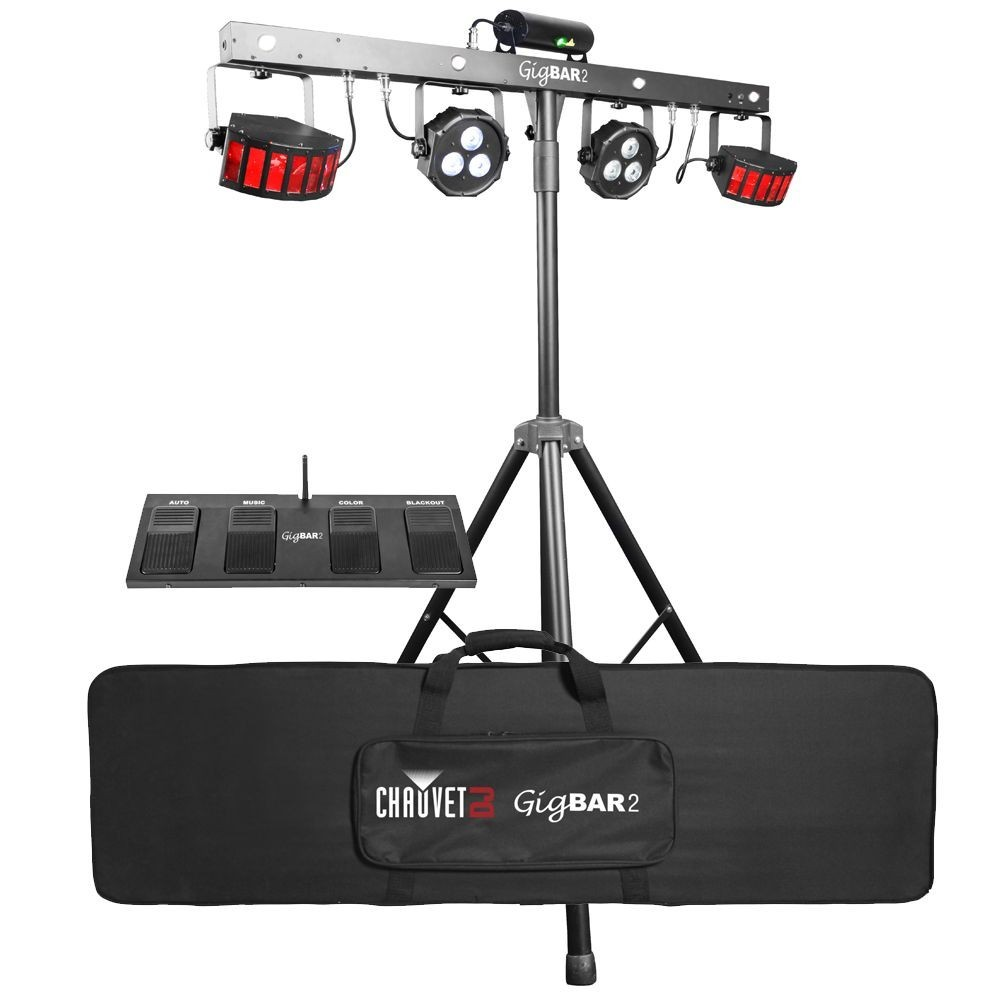 Chauvet DJ GIGBAR 2 4 in 1 Portable Lighting Setup with UV