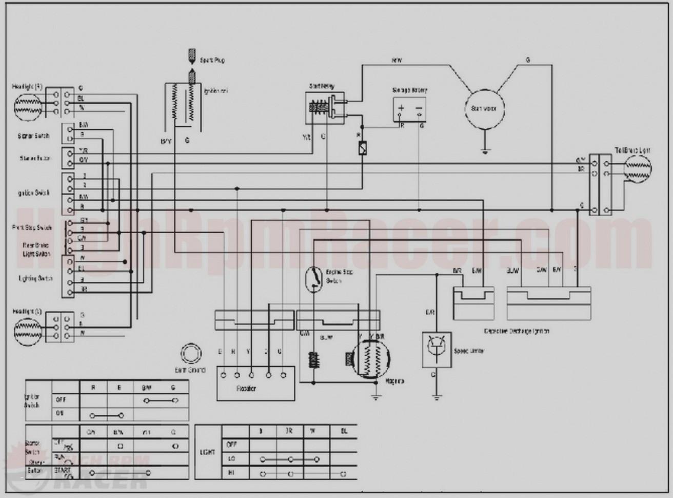 Chinese 110cc atv Wiring Diagram | Wiring Diagram Image
