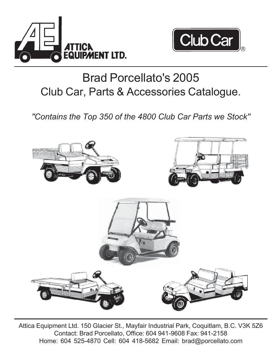 CLUSTOCK 0001 Brad Porcellato s 2005 Club Car