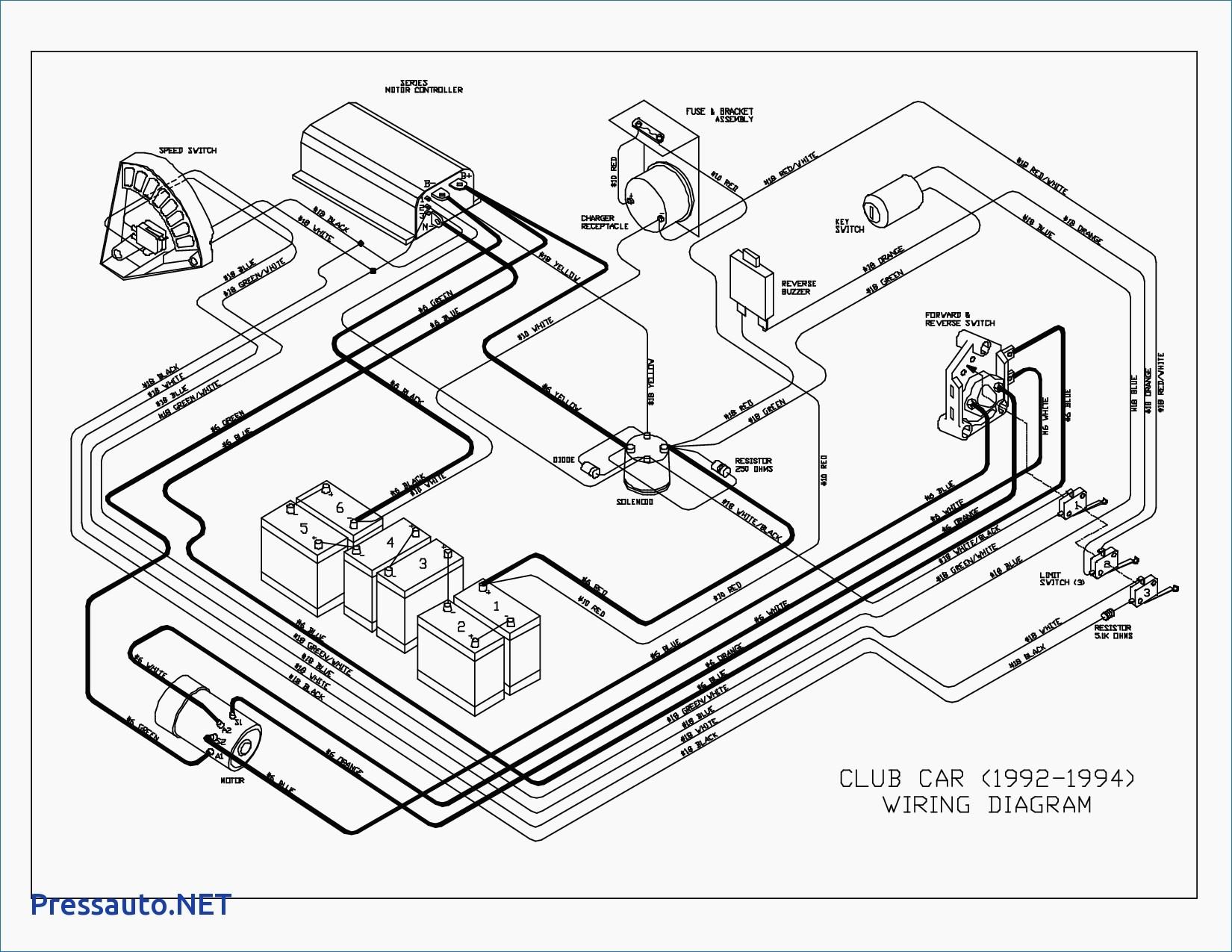1994 club car ds wiring diagram schematic auto electrical wiring rh 6weeks co uk 1982 Club Car 36V Wiring Diagram 48 Volt Club Car Wiring Diagram