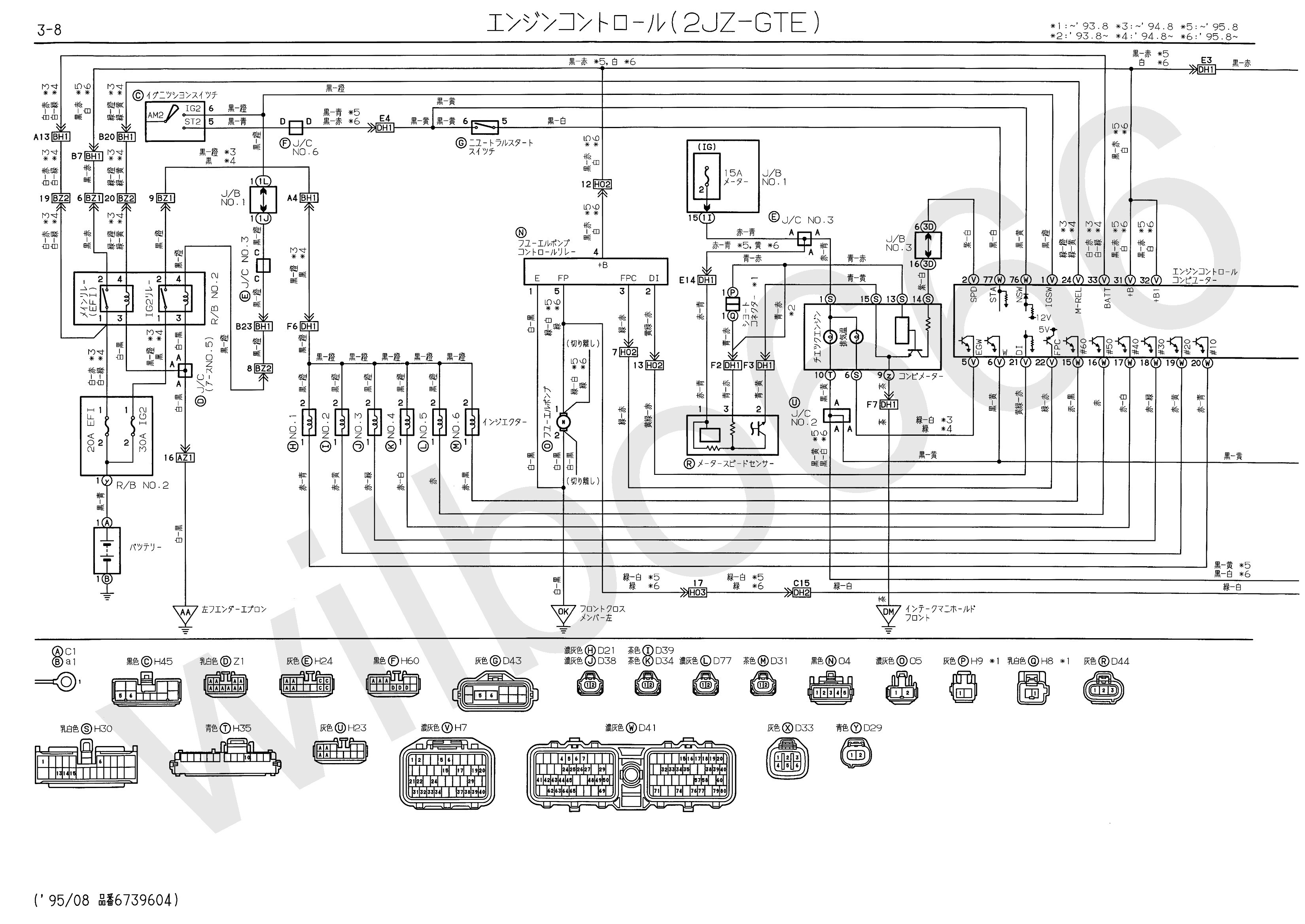 Coolant Temperature Sensor Wiring Diagram Unique Wilbo666 2jz Gte Jzs147 Aristo Engine Wiring