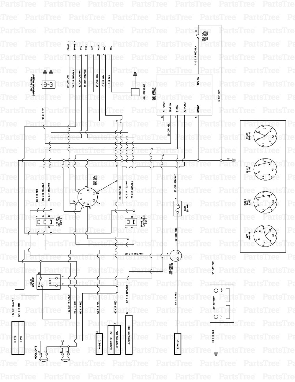 Cub Cadet Lt1050 Wiring Diagram Elegant Wiring Diagram Image