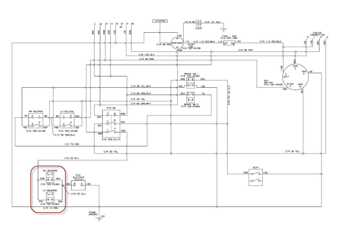 cub cadet 1100 wiring diagram worksheet and wiring diagram \u2022 Cub Cadet  Electrical Diagram cub
