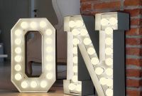 Diy Large Marquee Letters Elegant Alphabet Hollywood Light for the Dream House Pinterest