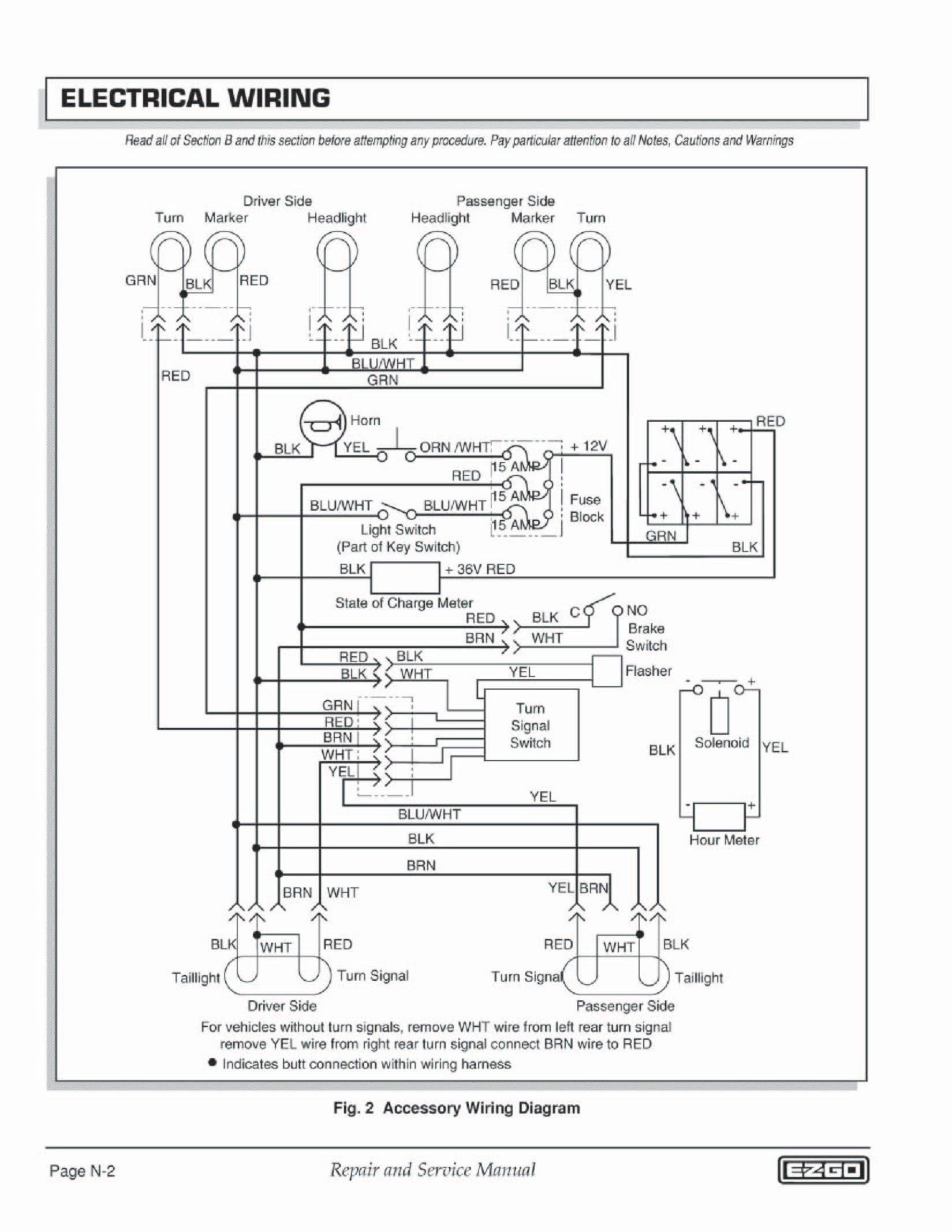 Ez Go Headlight Wiring Diagram Wire Center • Ez Go Golf Cart Battery Wiring Diagram