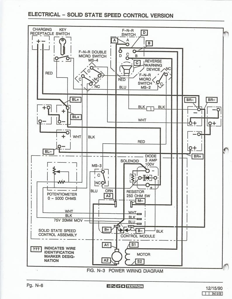 e z go golf cart batteries wiring diagram best of