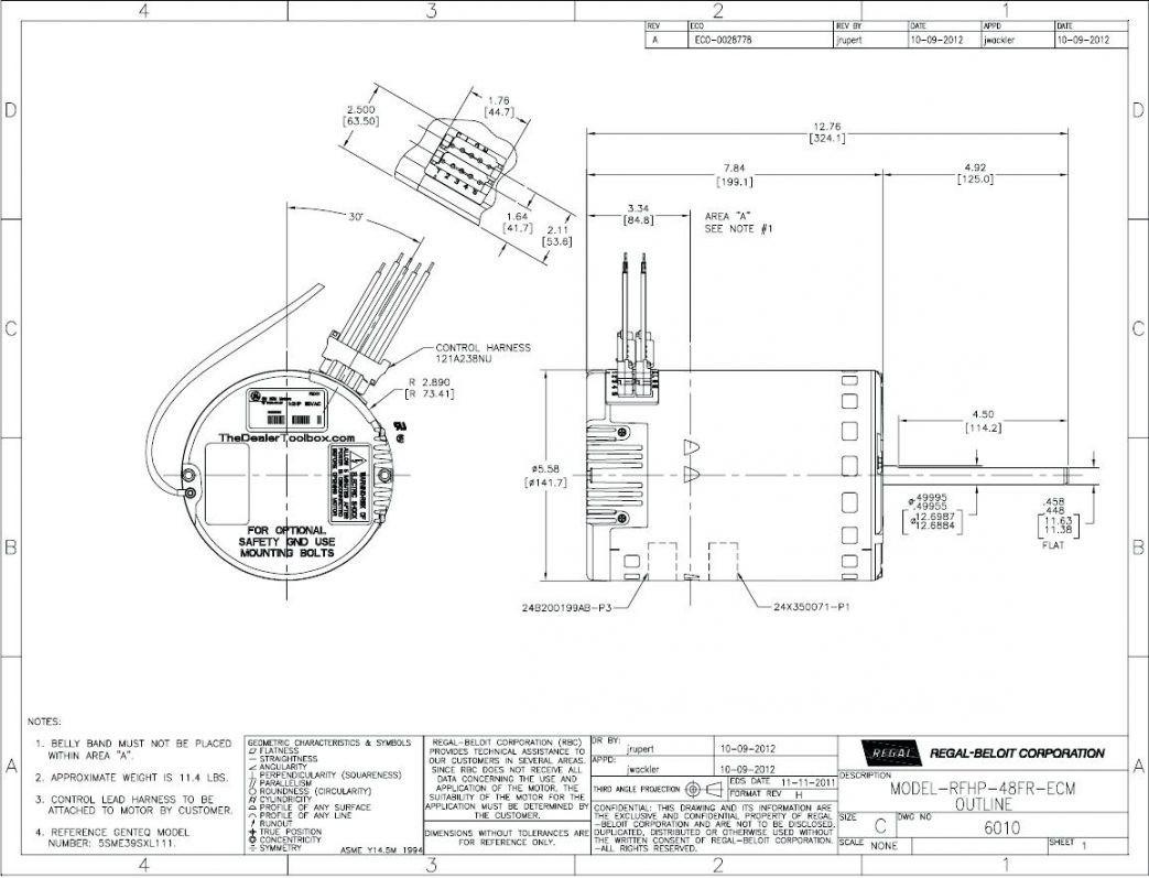 Ecm Motor    Wiring       Diagram         Wiring       Diagram    Image