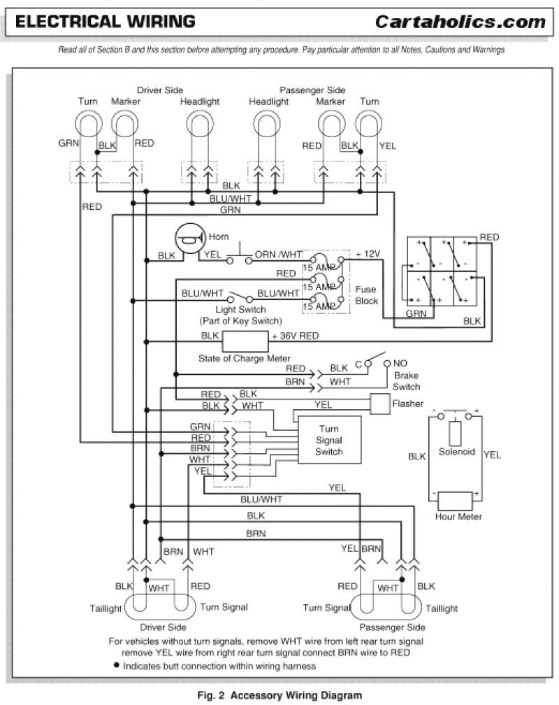 2006 ezgo txt wiring diagram headlights smart wiring diagrams u2022 rh krakencraft co 2002 EZ Go Golf Cart Wiring Diagram EZ Go Electric Golf Cart Wiring