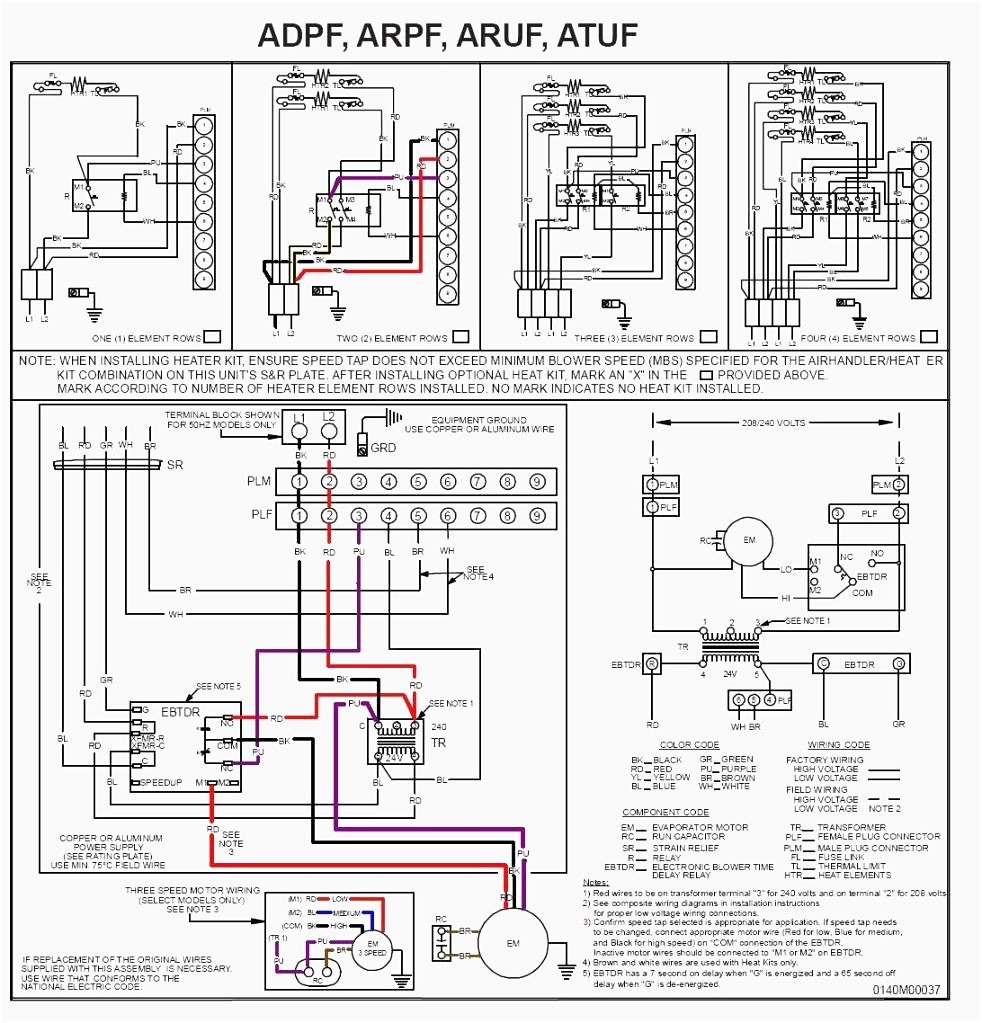 Goodman Air Handler Wiring Diagram Electric Furnace At Heat Pump Remarkable  For