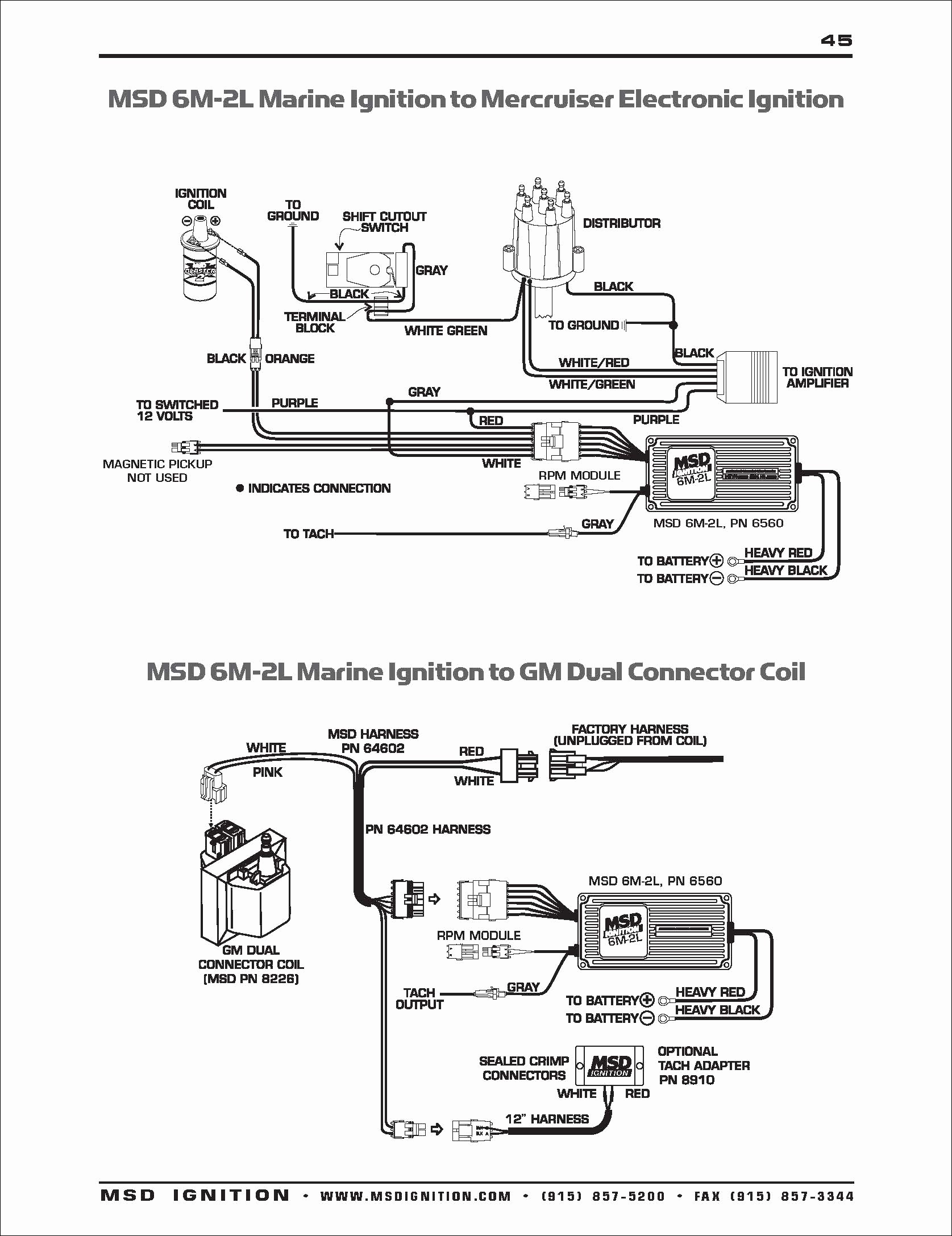 Ford Hei Distributor Wiring Diagram Awesome Msd Distributor Wiring Harness Diagram Diy Wiring Diagrams •
