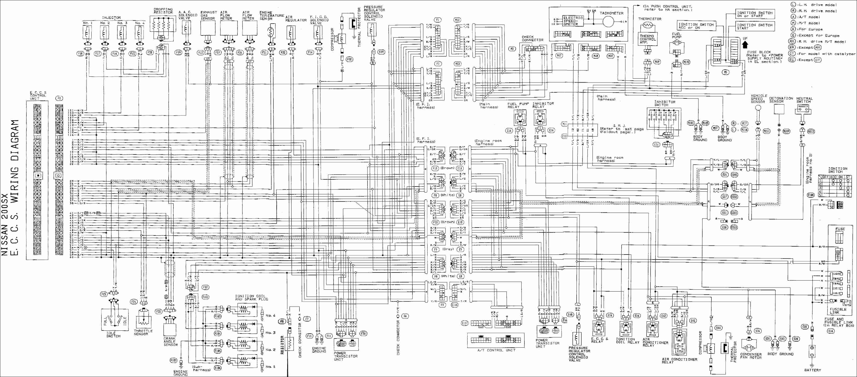 Ford Hei Distributor Wiring Diagram Inspirational Nissan Ka24 Distributor Wiring Diagram Wire Center •
