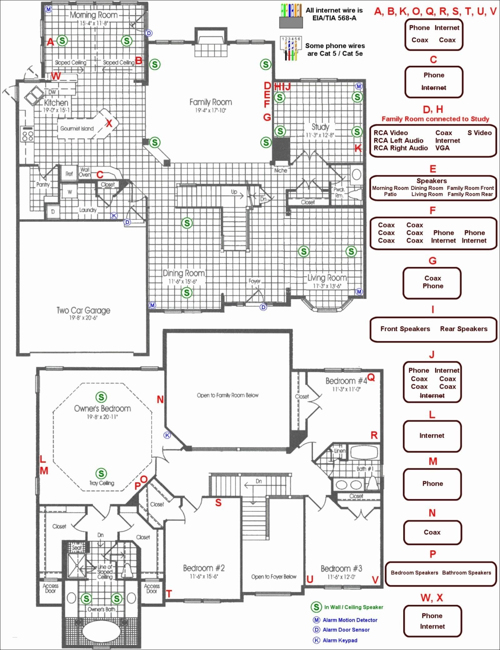 basic house wiring diagram