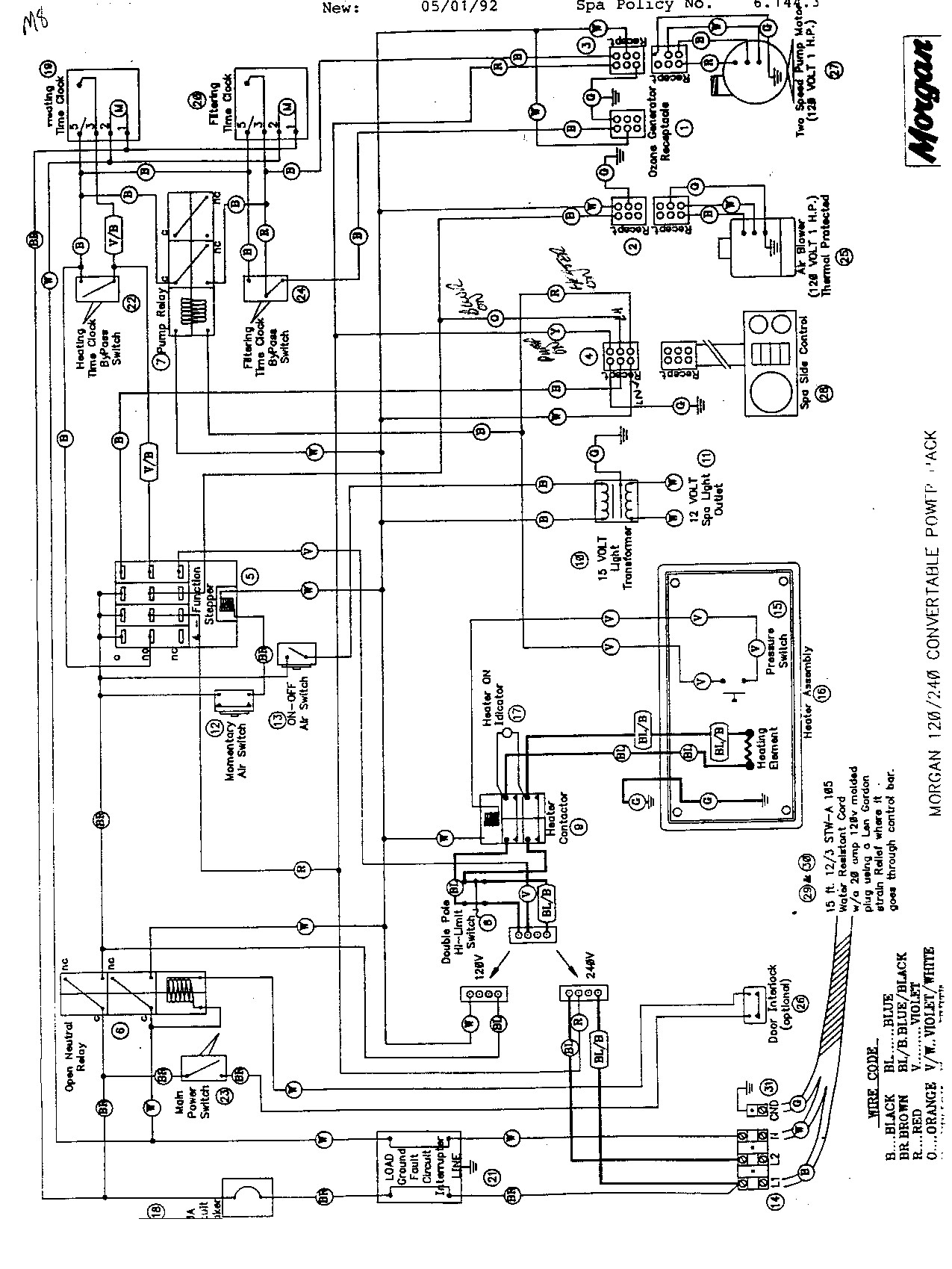 Hot Spring Spa Wiring Diagram 220 Wire Diagram Hot Springs Spa Dolgular With Tub Wiring