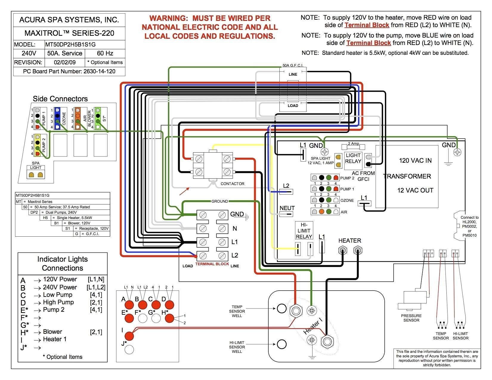 Thermospa Wiring Diagram Valid Awesome Hot Spring Spa Wiring Diagram