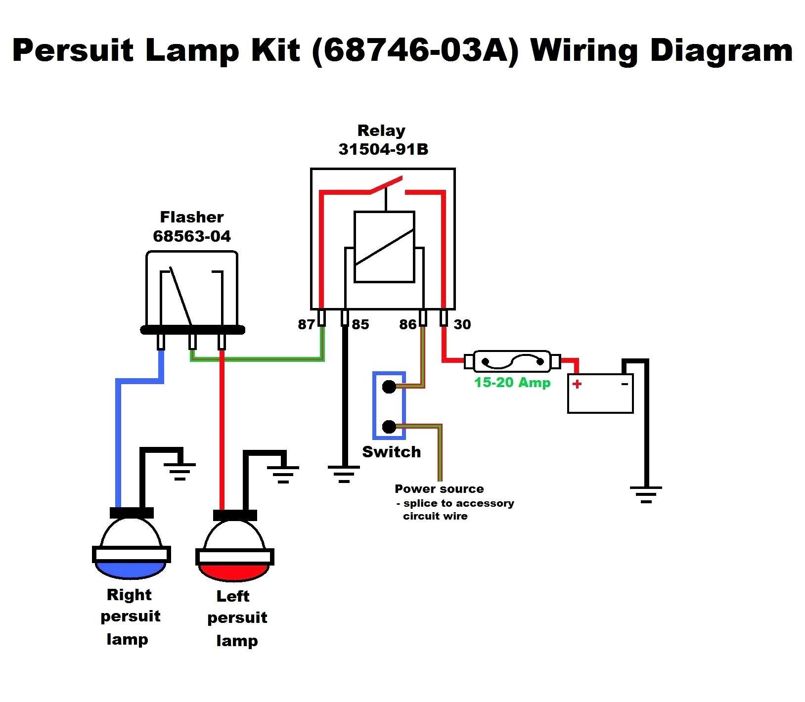 reed 4 pin relay wiring diagram