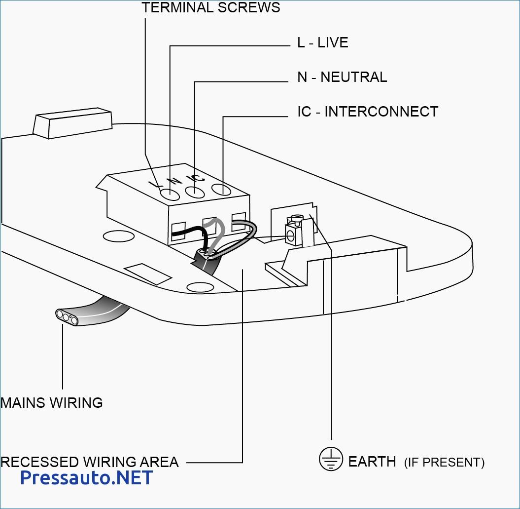 Wiring A Smoke Detector Diagram