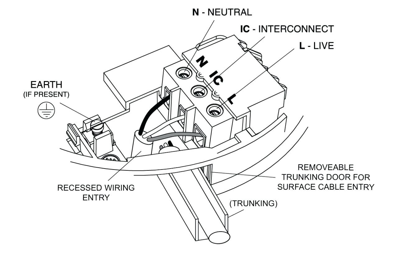 Interconnected Smoke Alarms Wiring Diagram New Wiring