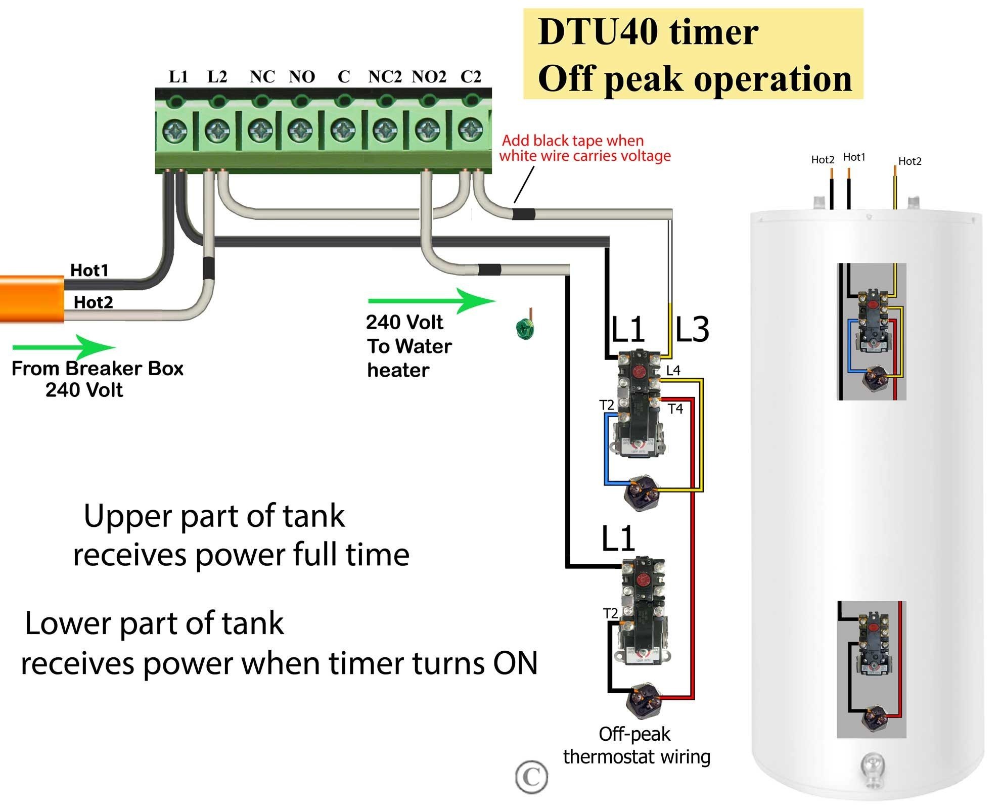 intermatic Intermatic T101 Timer Wiring Diagram Explained Wiring Diagrams on intermatic timer wiring install