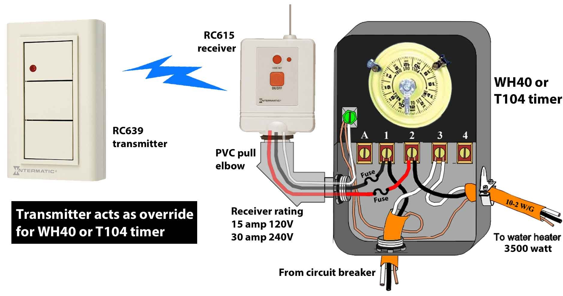 wh40 wiring diagram enthusiast wiring diagrams u2022 rh rasalibre co how to wire a 220v pool timer Timer for 220V Outlet
