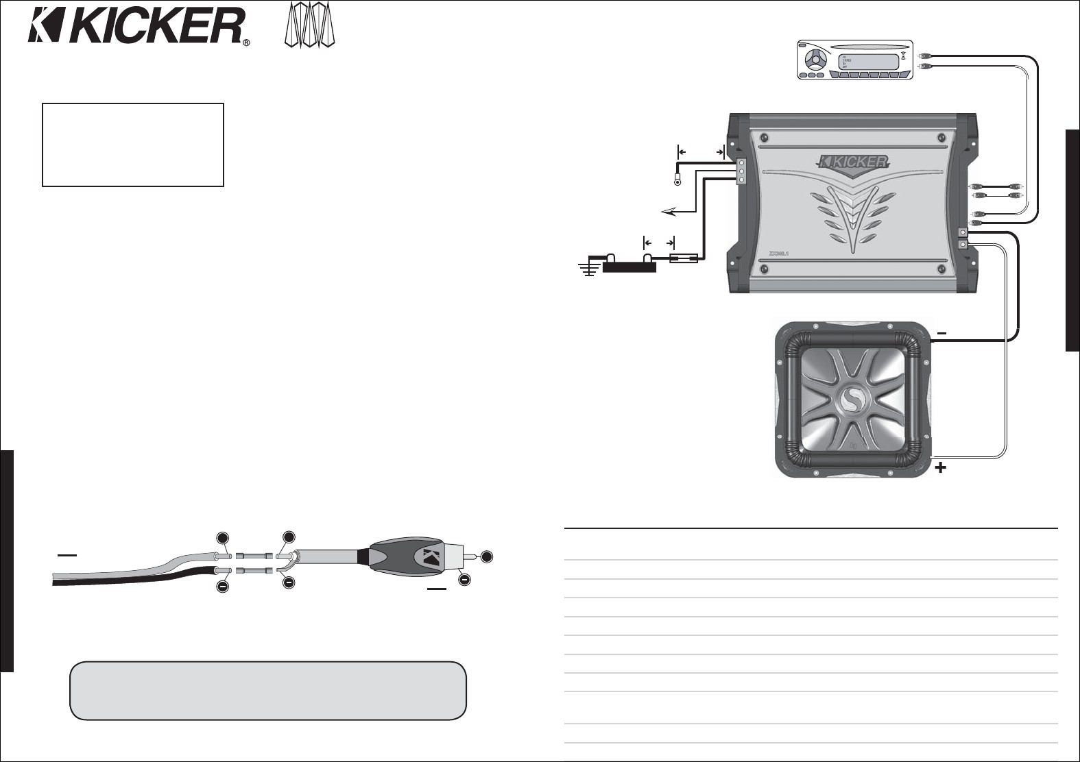 on kicker cvr Kicker Parallel Wiring WIRE Center • on kicker cvr 12 wiring alpine and wiring Kicker L7