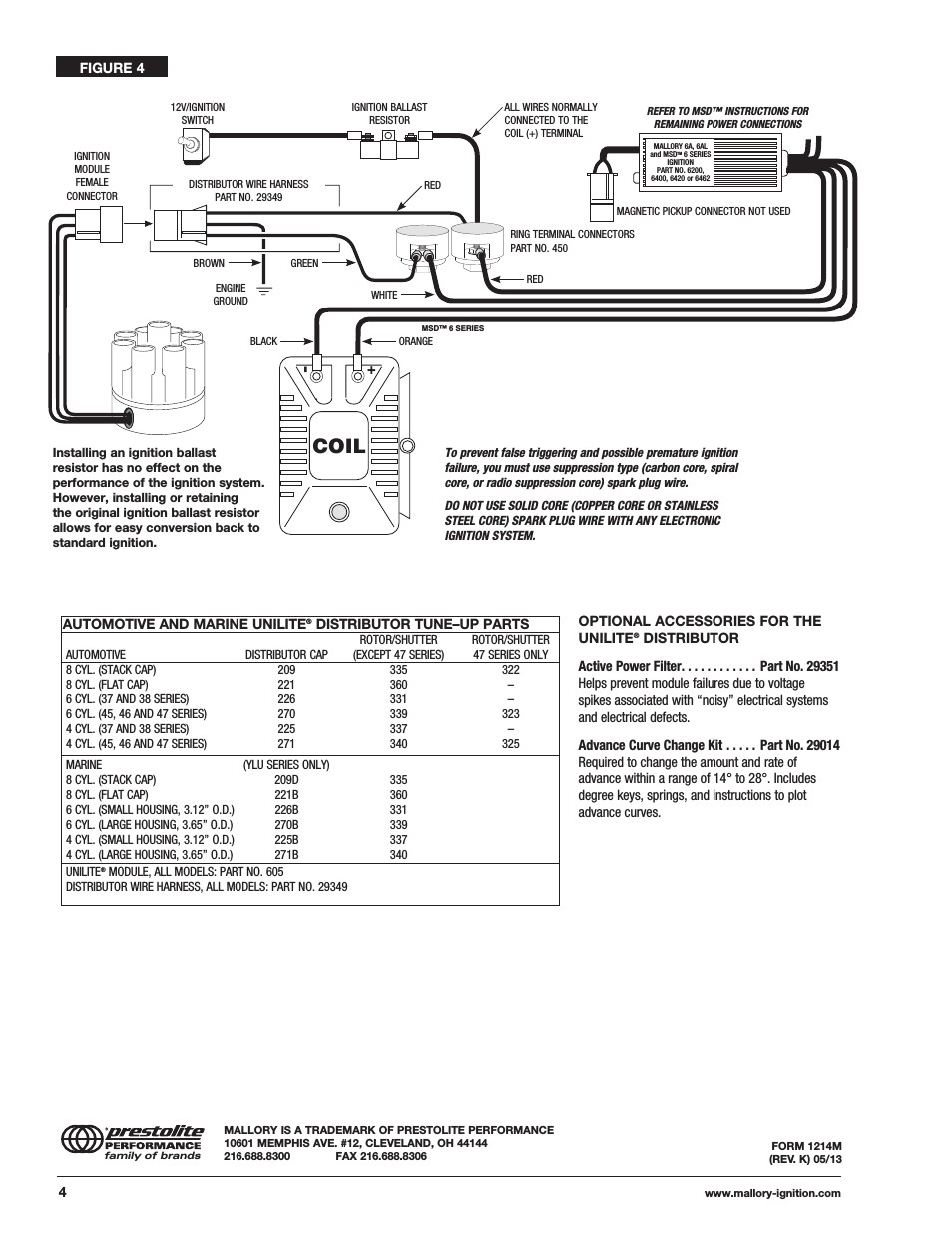Mallory Unilite Distributor Wiring Diagram Awesome