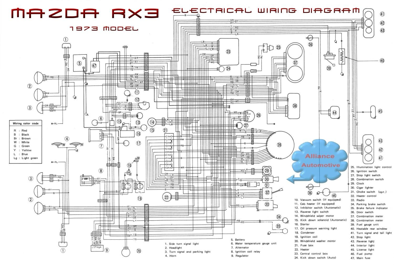 Mazda 3 Wiring Diagram Pdf Library Harley Davidson Harness Wp105 How Do I Fix My Electrical Problems Rh Oocities Org Accessories 2005 Awesome